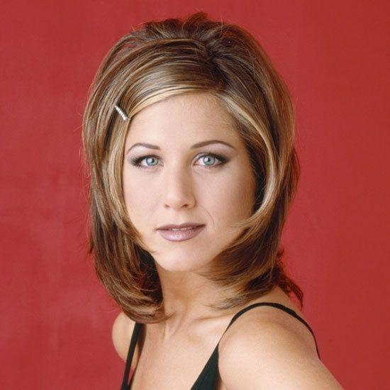 Jennifer Aniston in Friends - 1990s, the rachel hair cut, jennifer aniston bob