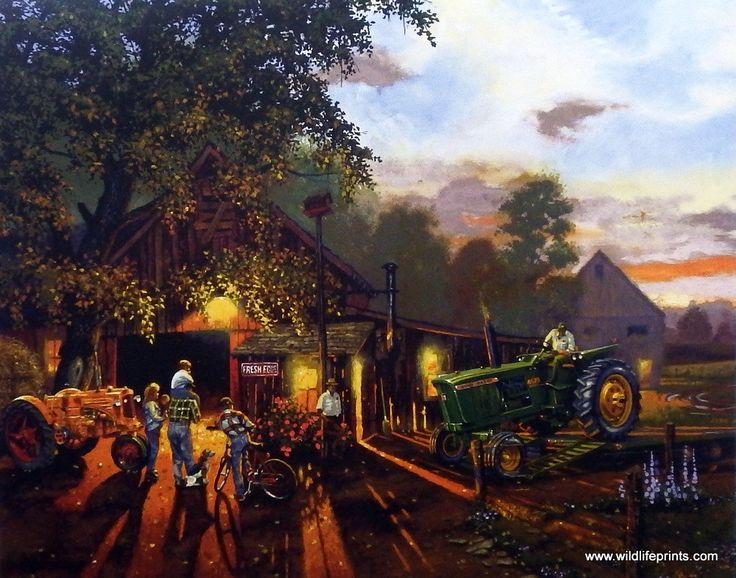 There is real excitement on the farm when a NEW TRACTOR gets delivered. The…