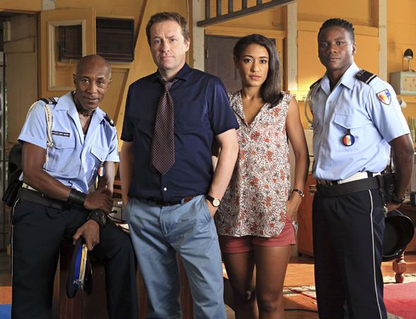 Death in Paradise cast series 7!