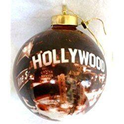 Los Angeles Christmas Ornament Hollywood Landmarks Ornament