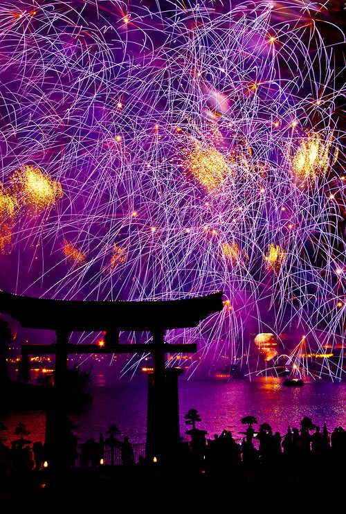 Fireworks at Japan