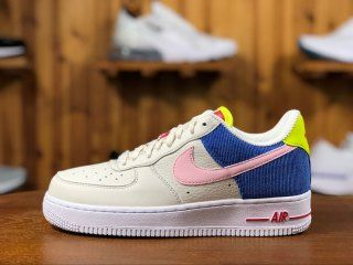 0a0f19becc6587 Nike Air Force 1 Low Premium Multi Color Summer Pac-Man AQ4137 011 Mens  Womens Running Shoes