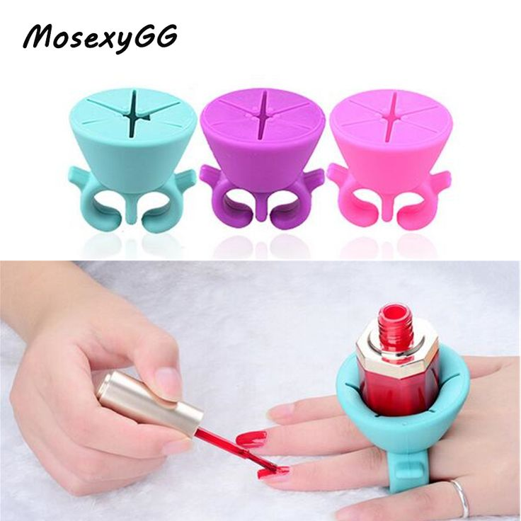Les 959 meilleures images du tableau nail art sur pinterest specials christmas day discount up to 40 1pc pro flexible silicone finger ring varnish wearable prinsesfo Image collections