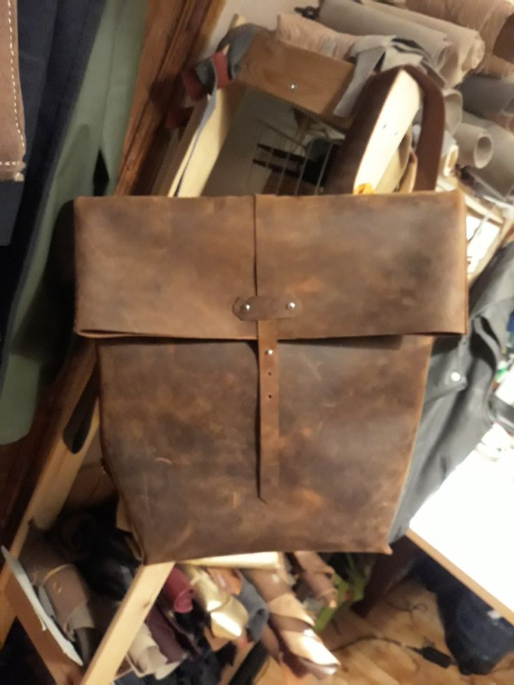 Leather backpack.  Custom order  Www.etsy.com/shop/ZazooHandCrafts