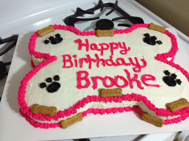 Dog Bone Cake My Treat S Pinterest Dogs Dog Bone