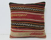 18x18 decorative pillow garden pillow case embroidered pillow aztec pillow case oversized pillow floor pillow gold yellow kilim pillow 27972