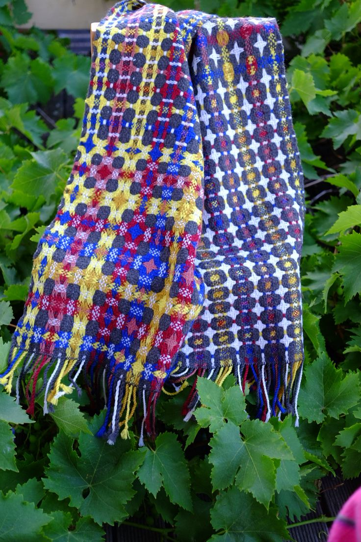 Deflected Double Weave scarf - final project A Calabro
