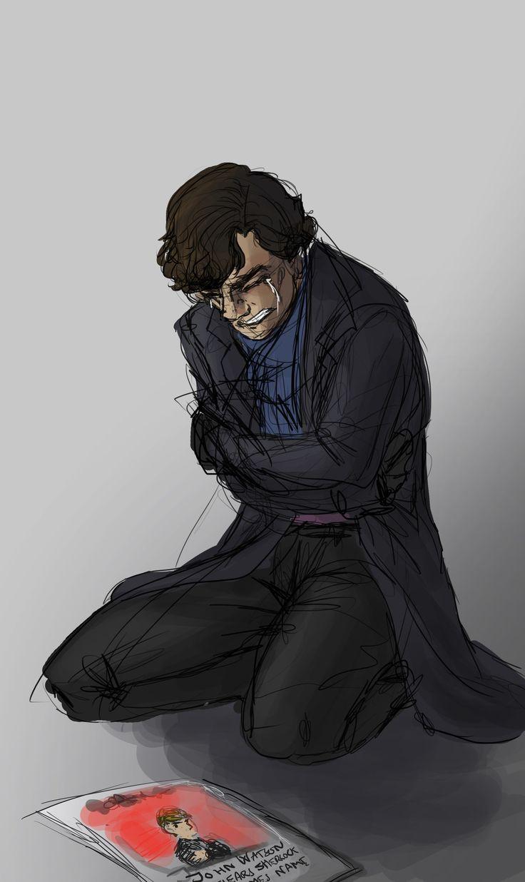 "The caption of the newspaper reads ""John Watson clears Sherlock Holmes name"" oh gosh im crying now.. *hugs sherlock*"