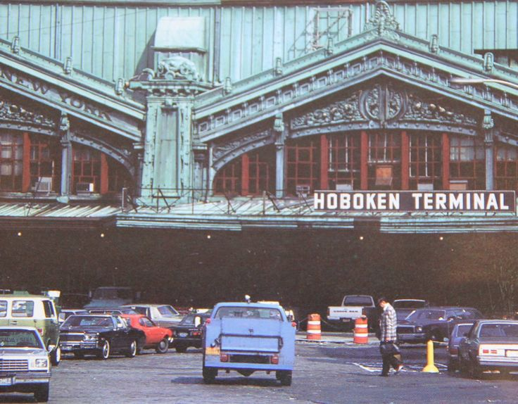 Hoboken Lackawanna Train Station 1980u0027s