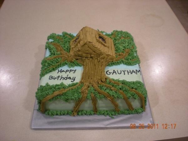 Magic Tree House Cake