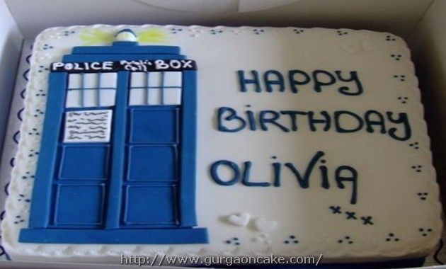 Dr Who Birthday Cakes Asda Picture