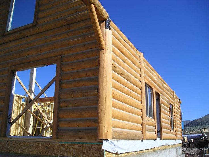 17 best ideas about log homes kits on pinterest log for Panelized building systems