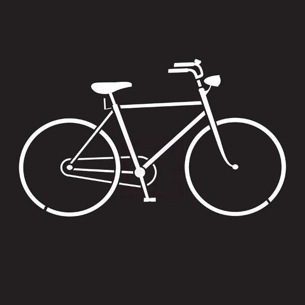 Prima Marketing - 6x6 Stencil - Bicycle