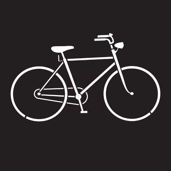 Prima Marketing - 6x6 Stencil - Bicycle