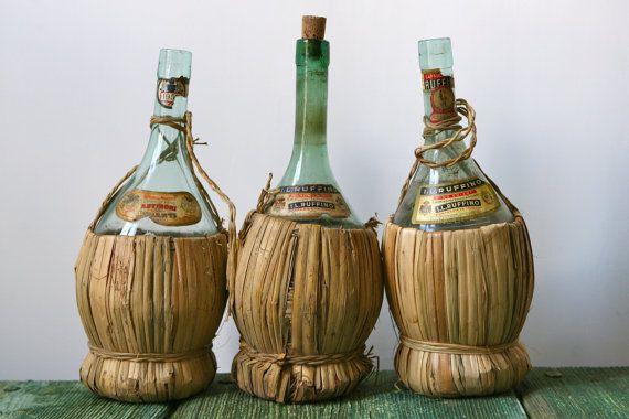 vintage wine bottle - Google-haku