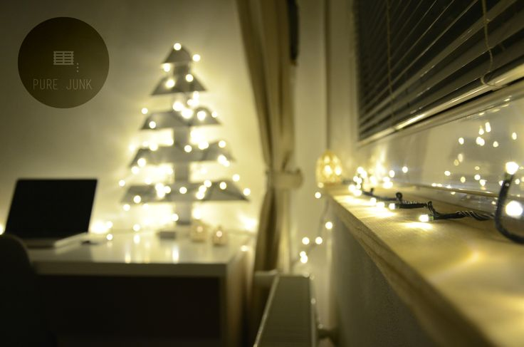 Christmas time :) Our wood tree in the game :) Pallets, recycle ideas by PURE JUNK DESIGN