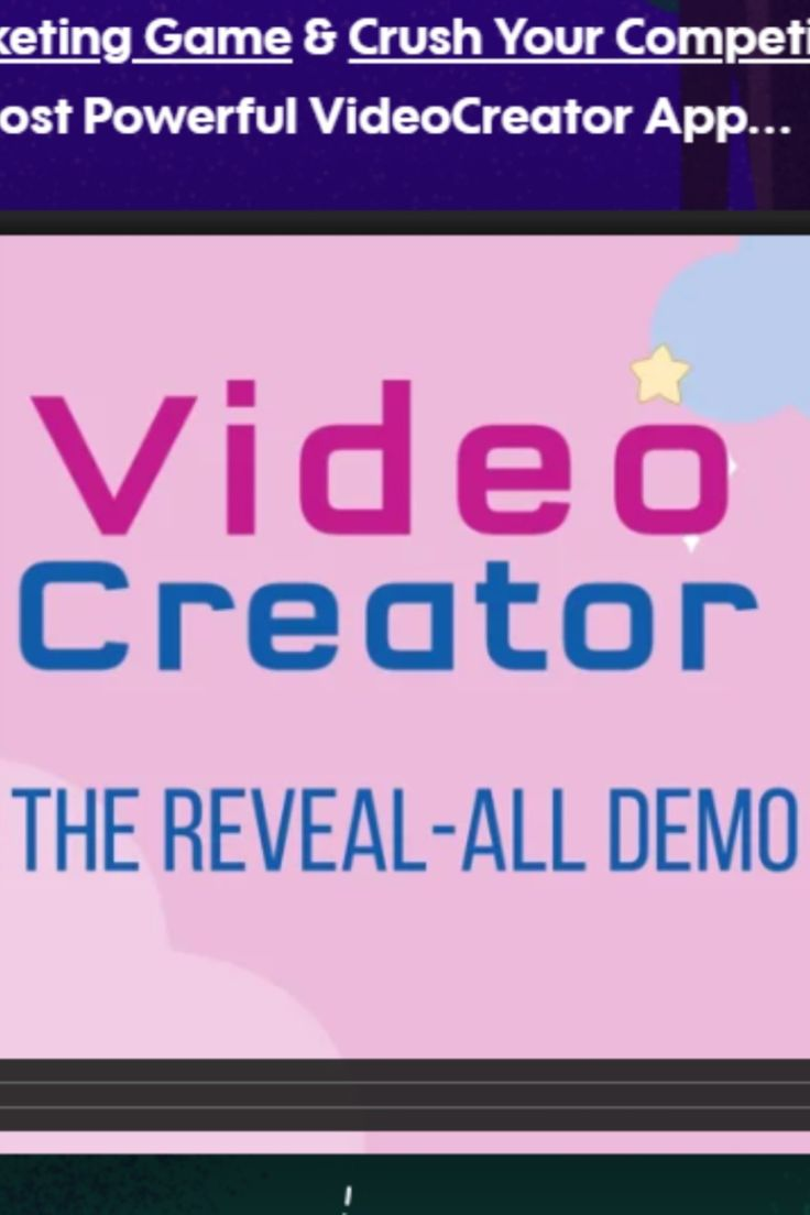 Get instant Access To Video Creator
