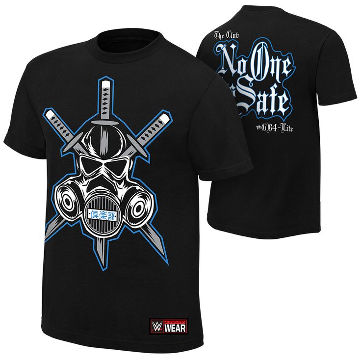 "The Club ""No One is Safe"" Youth Authentic T-Shirt - WWE US"