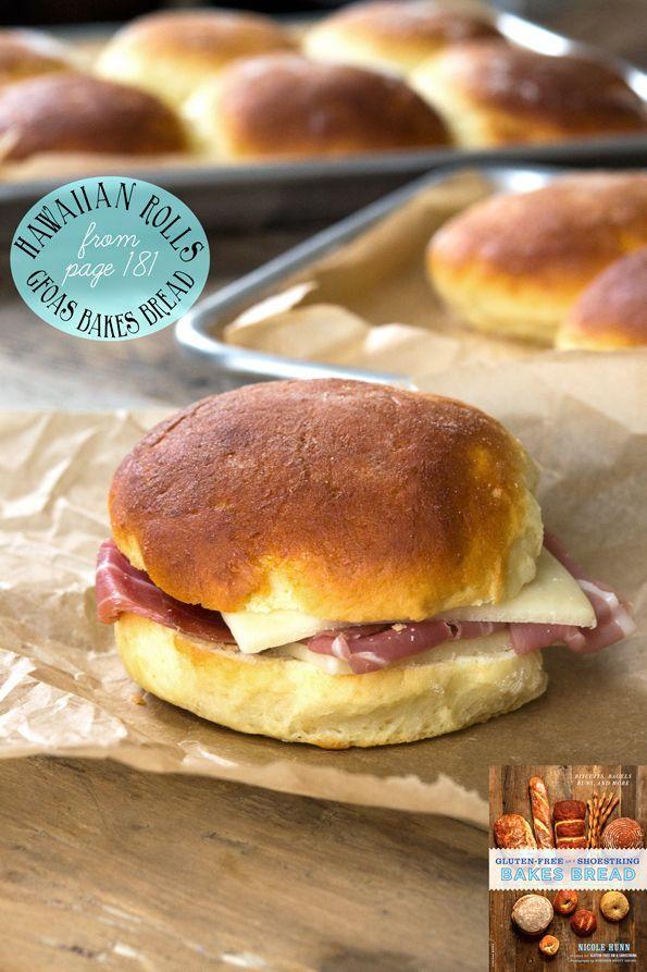 Gluten Free Hawaiian Rolls from Bakes Bread – plus shaping videos! gluten free / g free / gf