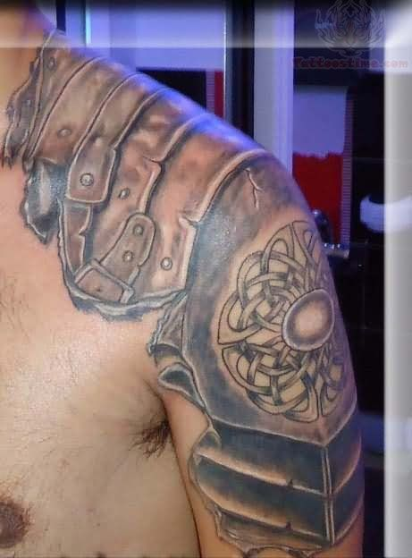 Pics Photos - Celtic Armor Tattoo
