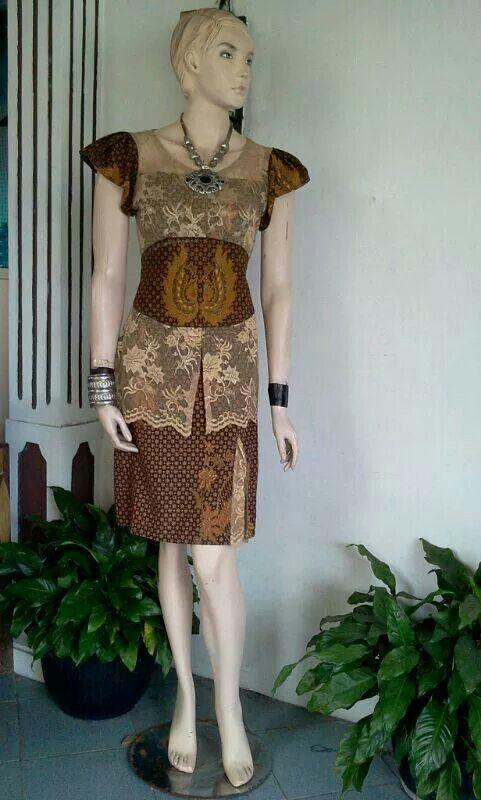 Ethnic batik patern designed.