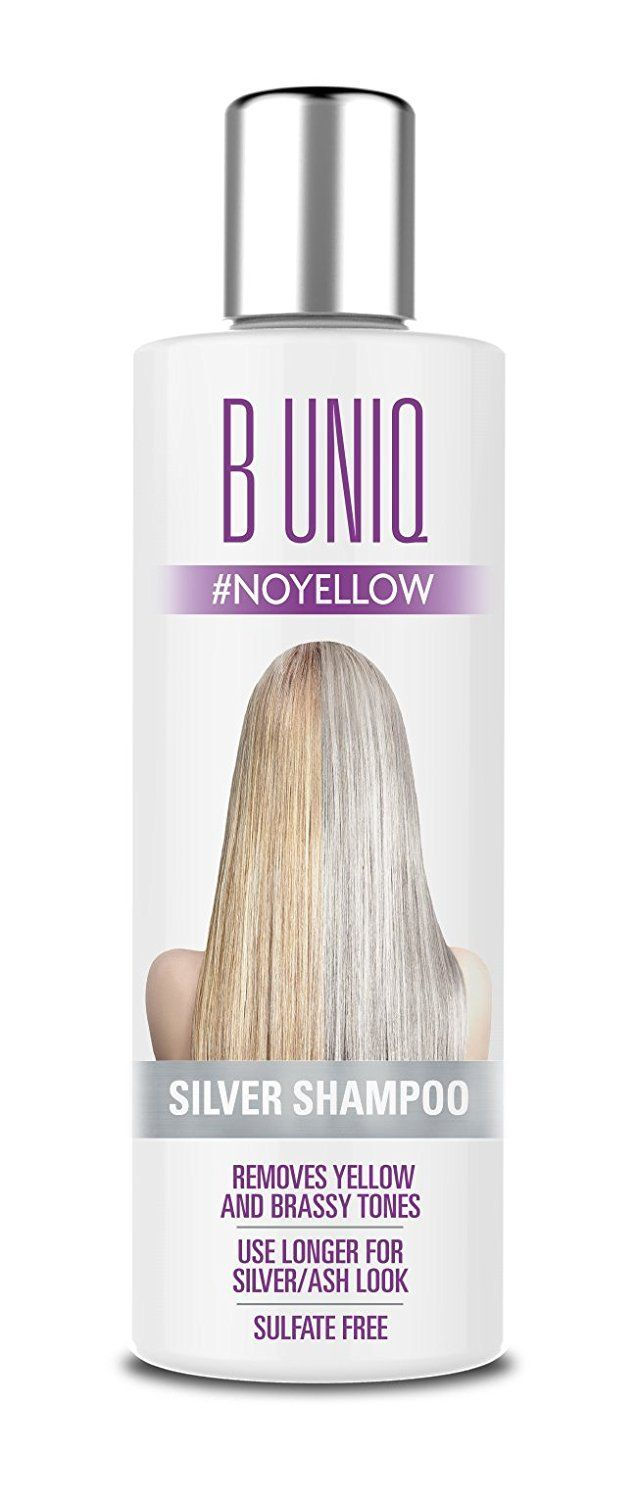 Purple Shampoo For Blonde Hair Sulfate Free No Yellow Silver