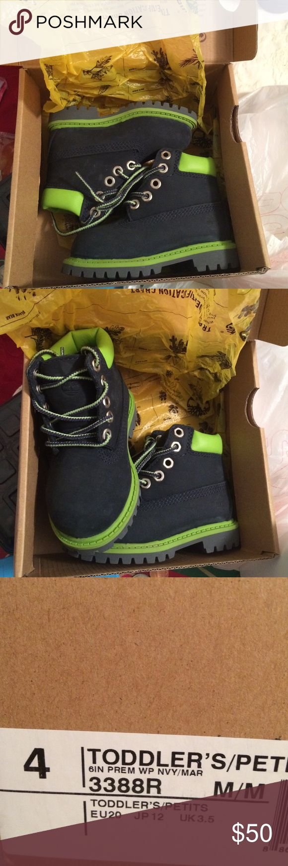 TIMBERLANDS FOR TODDLER Brand new in box no flaws Timberland Shoes Boots