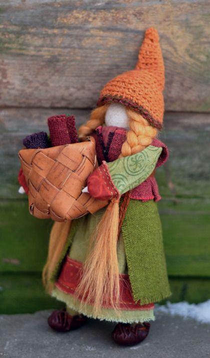 """Коллекционные куклы ручной работы. Ярмарка Мастеров - ручная работа Кукла-образ """" Кая-ткачиха"""". Handmade."""