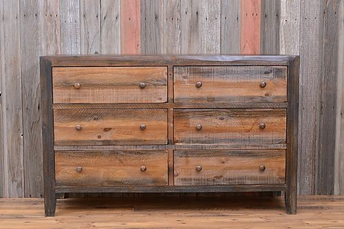 Woodland Dresser - A lovely accompaniment to the Woodland platform bed or mix and match with any of our other rustic bedroom sets. Come in to our Colorado furniture store to accessorize  and complete your look. Rustic bedroom, Cabin bedroom, Rustic décor, Rustic home decor, Rustic home, Mountain home, Bunkbed, Southwestern decorating, Southwest décor, Cabin décor, Luxury cabin, Cabin furniture, Cabin furniture bedroom, Log cabin homes, Log cabin decor