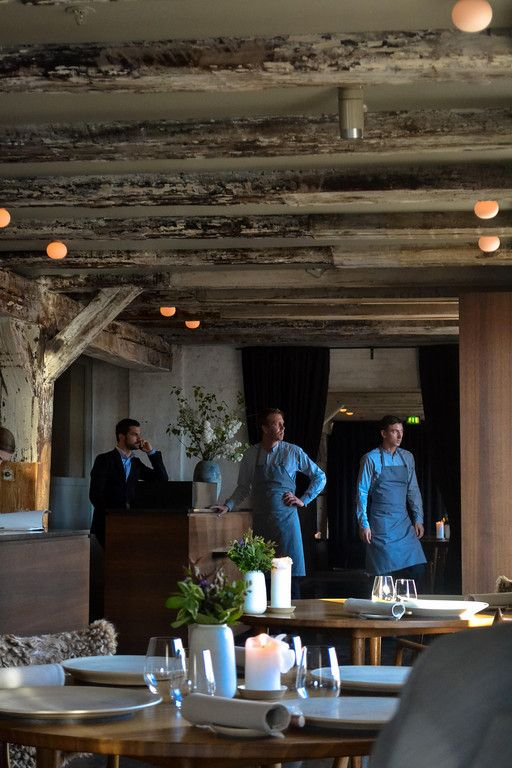noma restaurant.  Love the interior.  Would love to travel to Denmark to eat there.  Supposedly the best restaurant in the world.