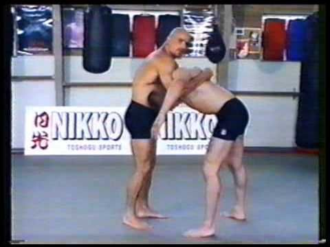 Bas Rutten Superior Free Fight Techniques Vol 1 Basic, Stances, Footwork, Conditioning - YouTube