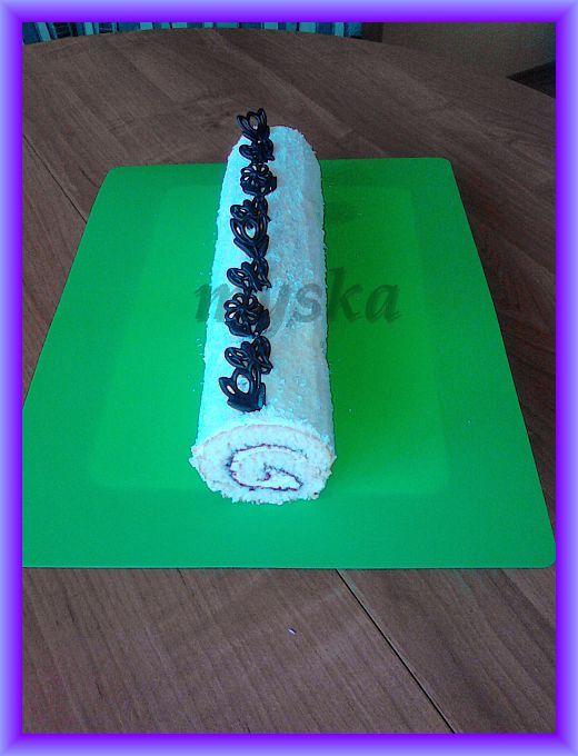 mini roládka pro dítka vanilková