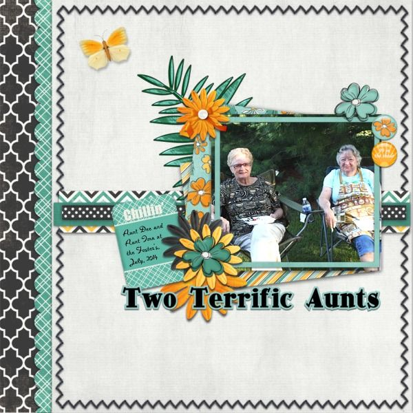 Two Terrific Aunts by Hidden_Artist. Kit: That Summer State of Mind by HotFlash…