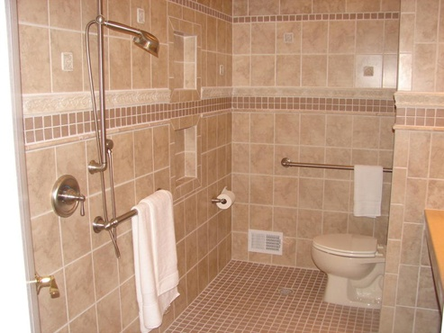48 Best Wheelchair Accessible Bathroom Shower Images On