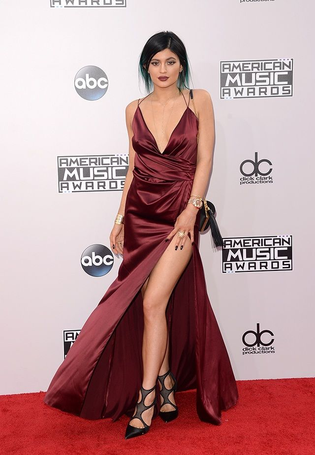 Kylie Jenner's Style Evolution - AMA's Red Carpet