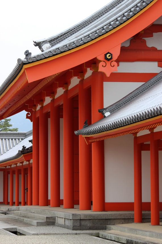 $25 photograph 8x 12 inch Kyoto Imperial Palace Photograph Fine Art by EmmabrookeImages