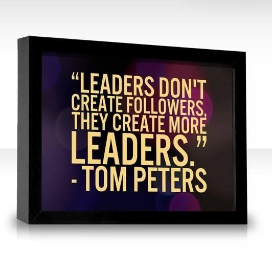 Leaders make Leaders! Its a Reproductive thing...http://DaveShirleyBlog.com