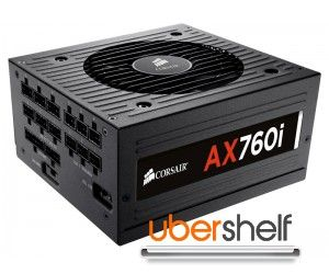 CORSAIR Professional Series Platinum AX760i 760W Power Supply