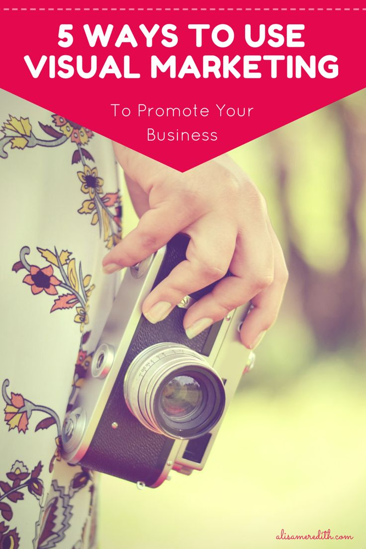 5 Ways to Use Visual Marketing to Promote Your Business