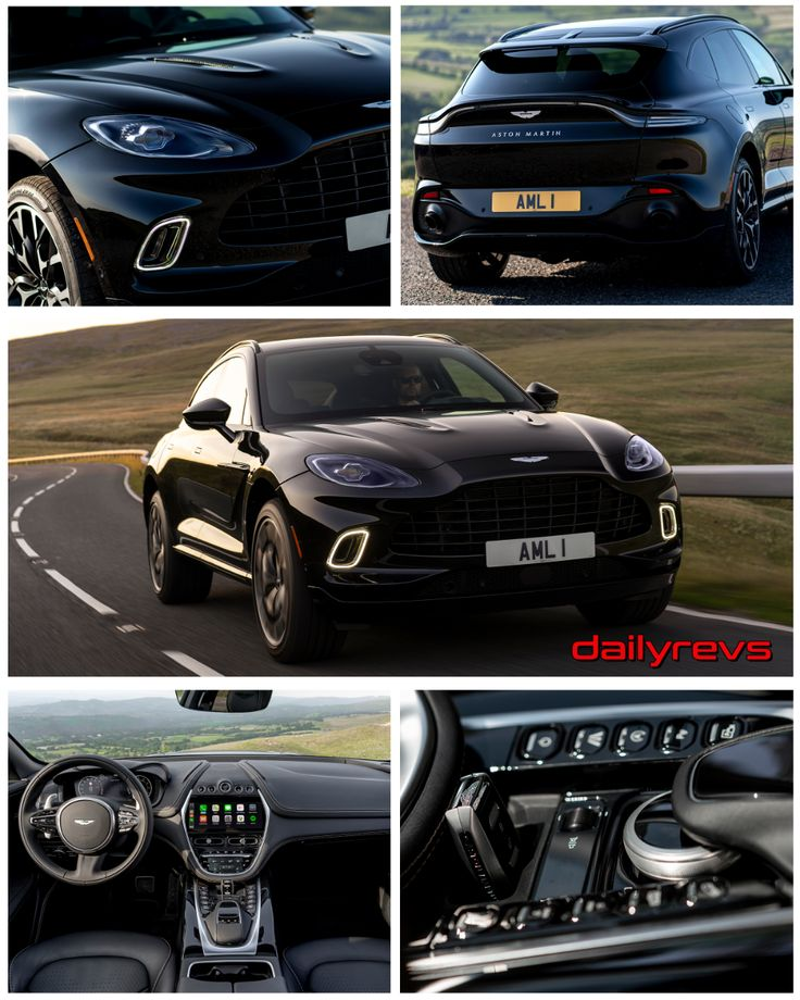 2021 Aston Martin DBX Onyx Black Dailyrevs in 2020