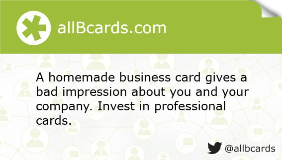 1000 images about Business Card Tips allBcards on