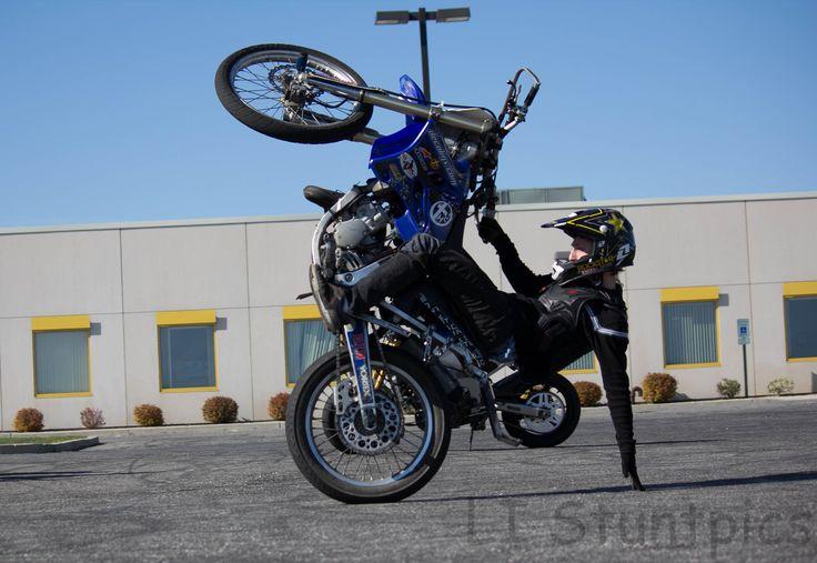 Dirt Bike Tricks Dirtbike tricks. via becky martin