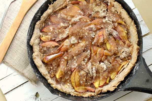 One skillet peach cobbler recipe