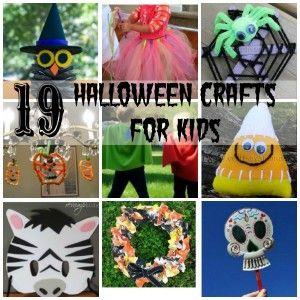 19 Halloween Crafts for KIds