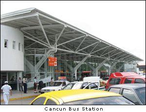 Cancun to Chichen Itza bus schedules