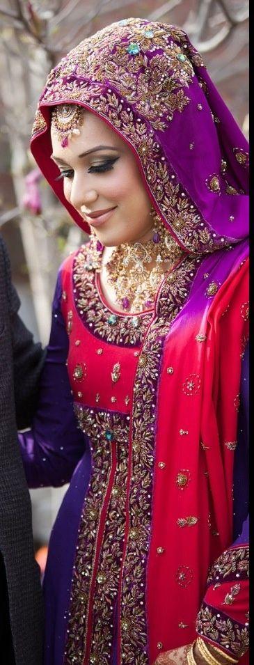 asian wedding hijab styles                                                                                                                                                                                 More