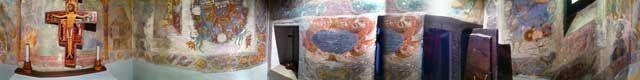 La cella in cui San Francesco si ritirava in preghiera. Uno spazio di circa 8mq
