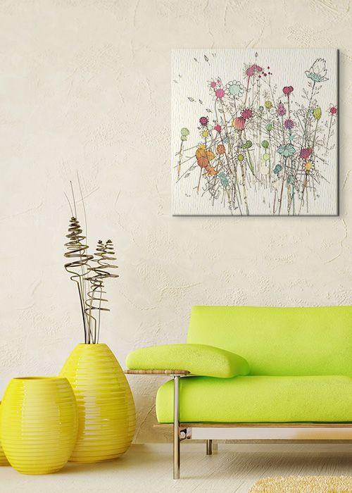 Flowers 39 - Obraz na płótnie | Sklep ePlakaty.pl