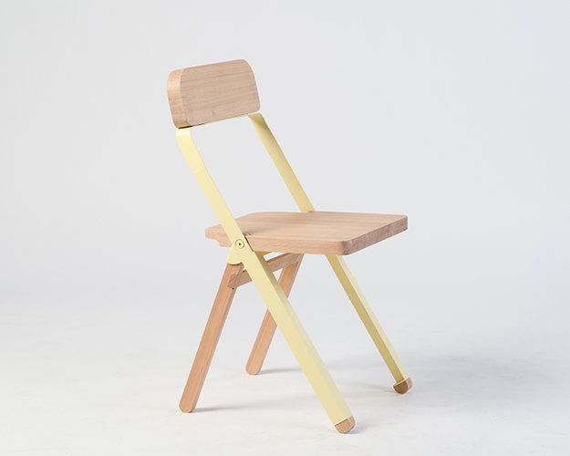 1: The Profile Chair   A Stylish Folding Chair You Won't Stash Out Of Sight   Co.Design: business + innovation + design
