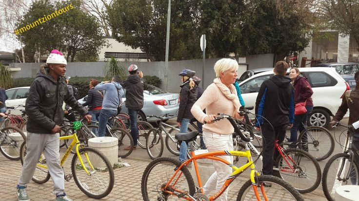 Soweto bicycle tour